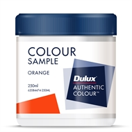 Dulux 250ml Orange Sample Pot