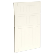 Kaboodle 450mm Antique White Country 3 Drawer Panels