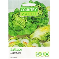 Country Value Little Gem Lettuce Seeds