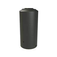 Melro 1005L Poly Round Water Tank - Slate Grey