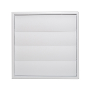 Builders Edge 150mm White Gravity Vent