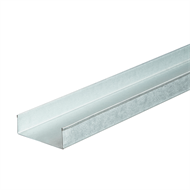Knauf 76 x 3000mm Steel Wall Track