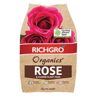 Richgro 5kg Organics Rose And Flower Plant Food