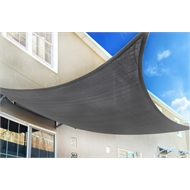 Marquee 3 x 3m Charcoal Square Shade Sail