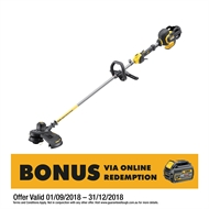DeWALT 54V XR FlexVolt Li-Ion Cordless Brushless Line Trimmer - Skin Only