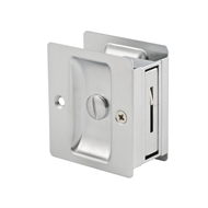 Lane Satin Chrome Plated Privacy Square Cavity Lock