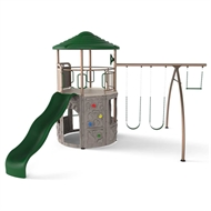 Swing Slide Climb 5010 x 3310 x 5010 mm Everest Play Equipment Set