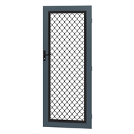 Protector Aluminium 813 x 2032mm Metric Barrier Grille Door - Deep Ocean
