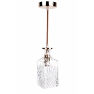 Cafe Lighting 240V Valmont Square Pendant Light