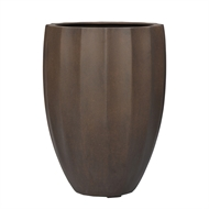 Lotus Collection 50 x 68cm Large Rust Lightweight Pot