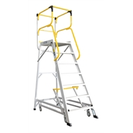 Bailey 1933mm 170kg Access 7 Aluminium Ladderweld Platform Ladder