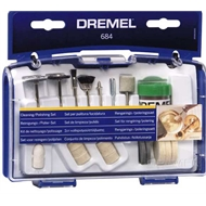 Dremel 20 Piece Clean And Polish Accessory Set