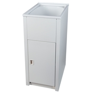 Everhard 35L Laundry Trough And Cabinet