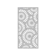 Protector Aluminium 600 x 900mm ACP Profile 25 Decorative Panel Unframed - Silver Sparkle