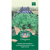 Mr Fothergill's Oregano Herb Seeds