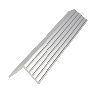 Metal Mate 25.4 x 25.4 x 1.57mm 1m Aluminium Fluted Angle