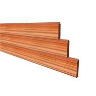 86 x 18mm Vee Joint Tongue And Groove Cedar Cladding - Per Linear Metre