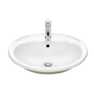 Caroma Stylus Allegro Vanity Basin 1TH