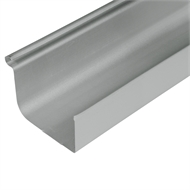 COLORBOND® Steel 0.42 x 115mm Quad Gutter - Shale Grey
