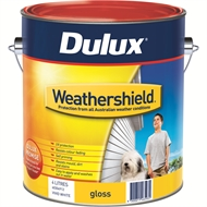 Dulux Weathershield 4L Gloss Mission Brown Exterior Paint