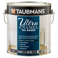 Taubmans Ultra Enamel 4L Accent Gloss Oil Based Enamel