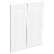 Kaboodle Nougat Truffle Heritage Corner Wall Cabinet Doors - 2 Pack
