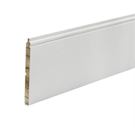 Woodhouse EdgeLine 140 x 12mm 5.4m (133mm Cover) Primed Finger Jointed Pine Lining Board