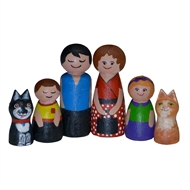 Boyle Crafty Doll Family Kit