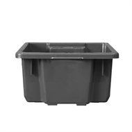 Handy Storage 30L Grey Heavy Duty Crate
