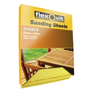 Flexovit 230 x 280mm 60 Grit Timber Sanding Sheet