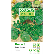 Country Value Rocket Salad Leaves Vegetable Seeds