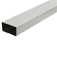 COLORBOND 0.4 x 100 x 50mm x 1.8m Steel Downpipe - Dune