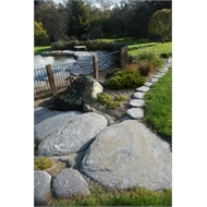 WestStone 30 - 50cm Natural Schist Stepping Stone