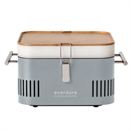 Everdure by Heston Blumenthal Stone CUBE Portable Charcoal Barbeque
