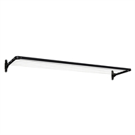 Daytek Slim Fold Down Clothesline - Anthracite Black