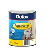 Dulux 1L Extra Bright Base Gloss Aquanamel Paint