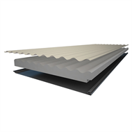 Insulspan 50mm Colorbond Colours Corrugated Roofing - Linear Metre