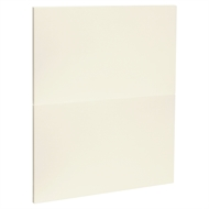 Kaboodle 600mm Custard Glaze Modern 2 Drawer Panels