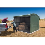 Absco Sheds 3.0 x 3.0 x 2.53m Rural Shed - Classic Cream