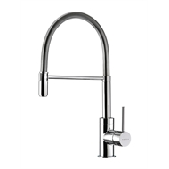 Methven WELS 4 Star 7.5L/min Chrome Spring Pull Down Sink Mixer