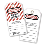 Master Lock Do Not Operate Lockout Tags - 12 Pack