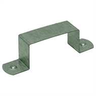 COLORBOND 100 x 50mm Downpipe Clip - Cottage Green