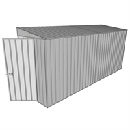 Build-A-Shed 1.2 x 4.5 x 2.0m Zinc Tunnel Shed Tunnel Hinged Door No Side Doors - Zinc