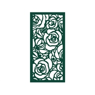Protector Aluminium 900 x 1800mm Profile 28 Decorative Unframed Panel  - Dark Green