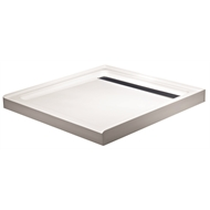 Rick McLean's Designer Bathware 1000 x 1000mm Modern Shower Base
