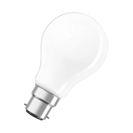 Osram 46W Halogen Frost Classic A Shape BC Globe