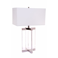 Cafe Lighting Cross Table Lamp