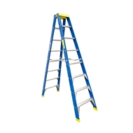 Bailey 2.4m 150kg Fibreglass Double Sided Step Ladder