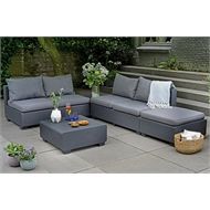 Keter Sapporo Outdoor Twin Seater Sofa