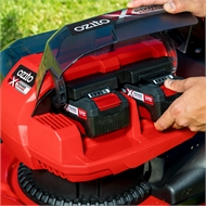 Ozito Power X Change 2 x 18V Brushless 5 in 1 Steel Deck Lawn Mower - Skin Only